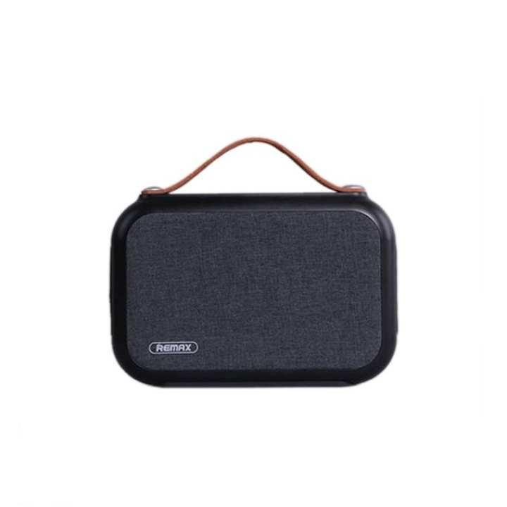 Remax RB-M17 Fabric Bluetooth Speaker - Black