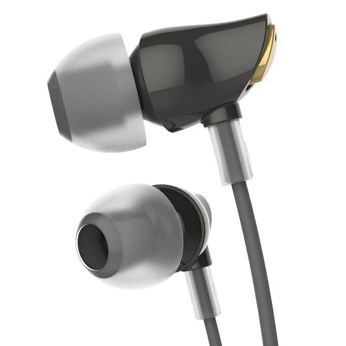Zircon Sports Stereo Earphone - Black