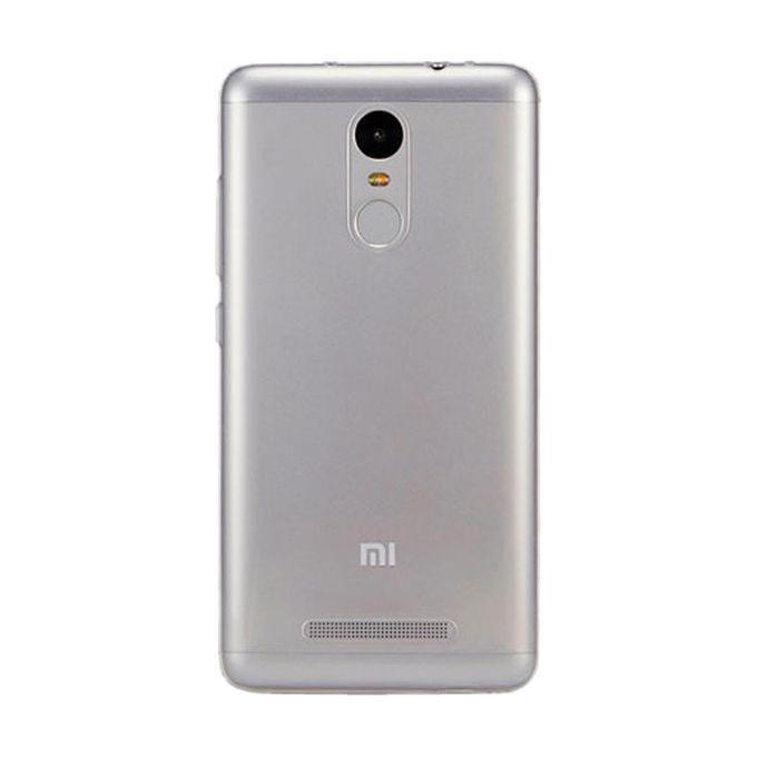 Back Case Cover for Xiaomi Redmi Note 3 Pro - Transparent
