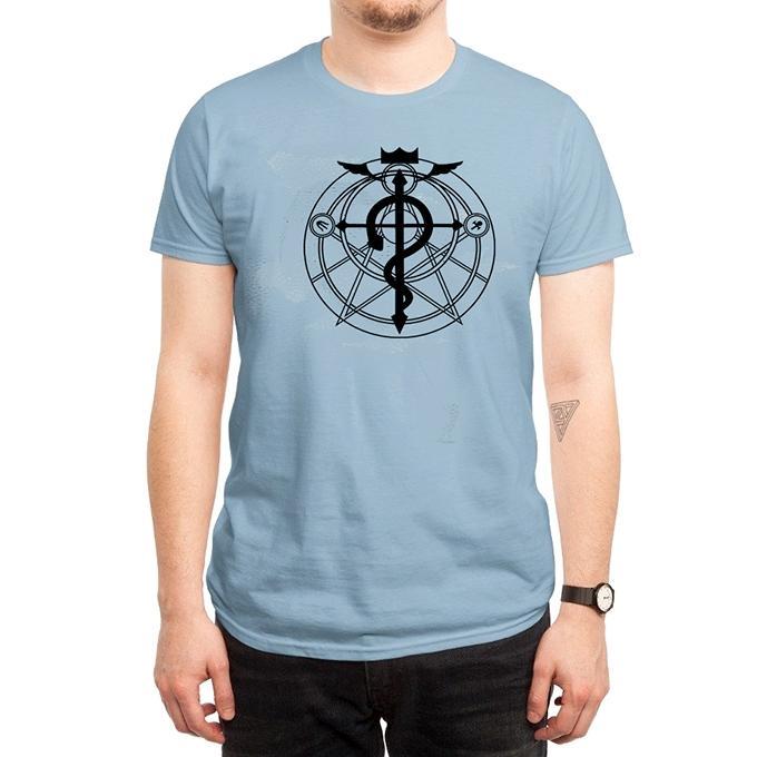 Sky Cotton Snake Question T-Shirt For Men