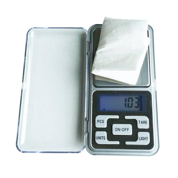 Pocket Mini Weight Scale - White