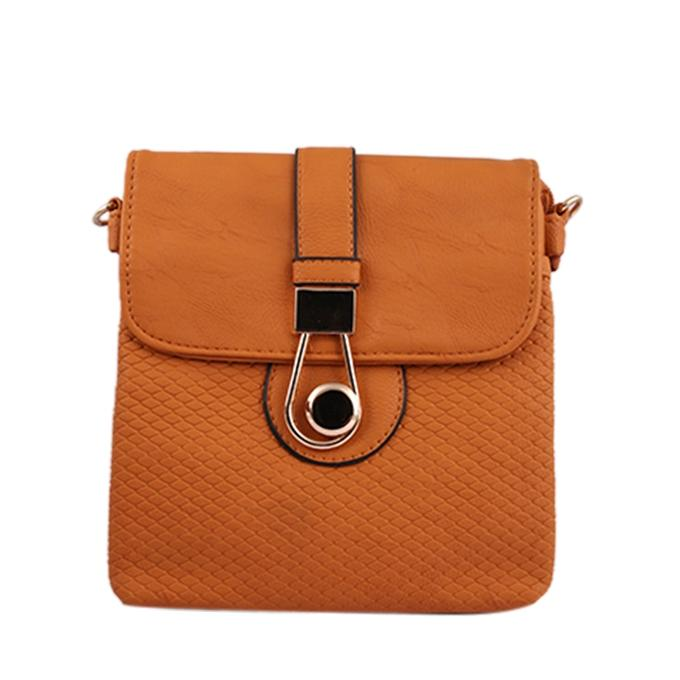 Saddle Brown Side Bag for Women