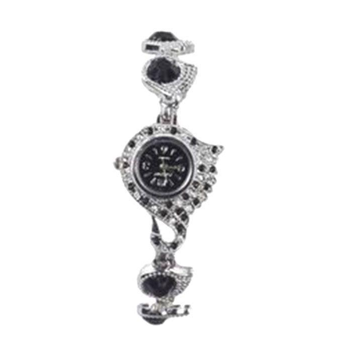 Stainless Steel Analog Watch for Women - Silver