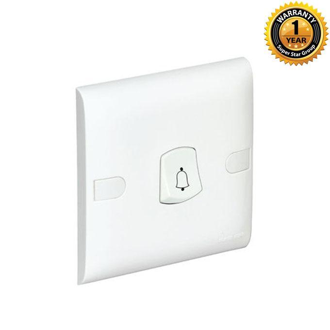 Slim Series Slim Door Bell - White