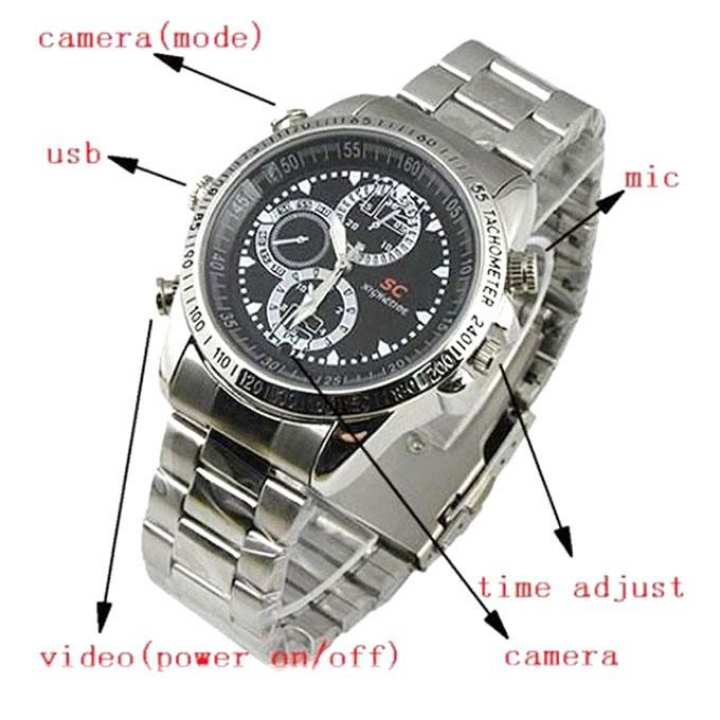 Spy Smart Watch - Silver