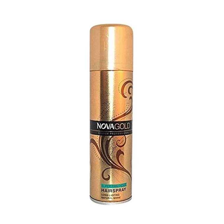 Gold Super Firm Hold Hair Spray - 200ml