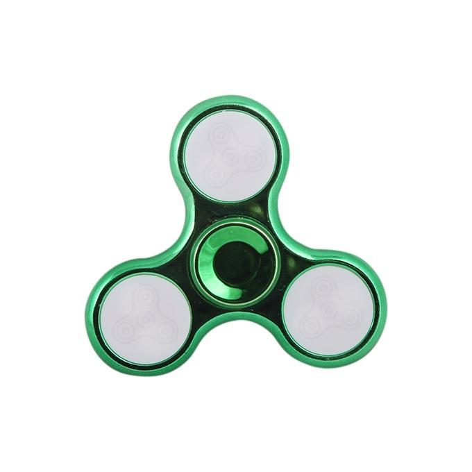 LED Fidget Spinner Stress Reducer Toy - Green