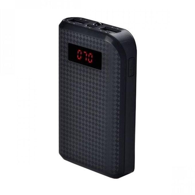 Proda Dual-USB Power Bank 10000mAh - Black