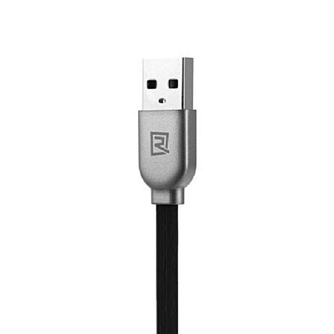 1M Magnetic 2-in-1 Data Cable - Black
