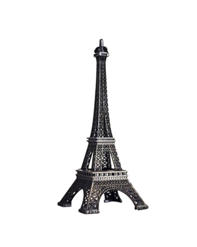 Eiffel Tower Model Brass - Black