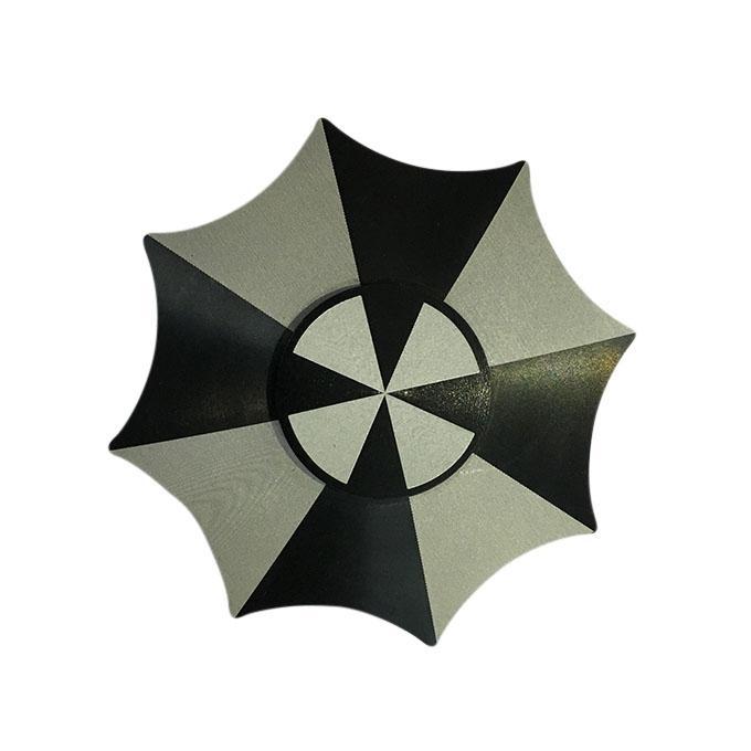 Umbrella Shaped Black Round Fidget Spinner