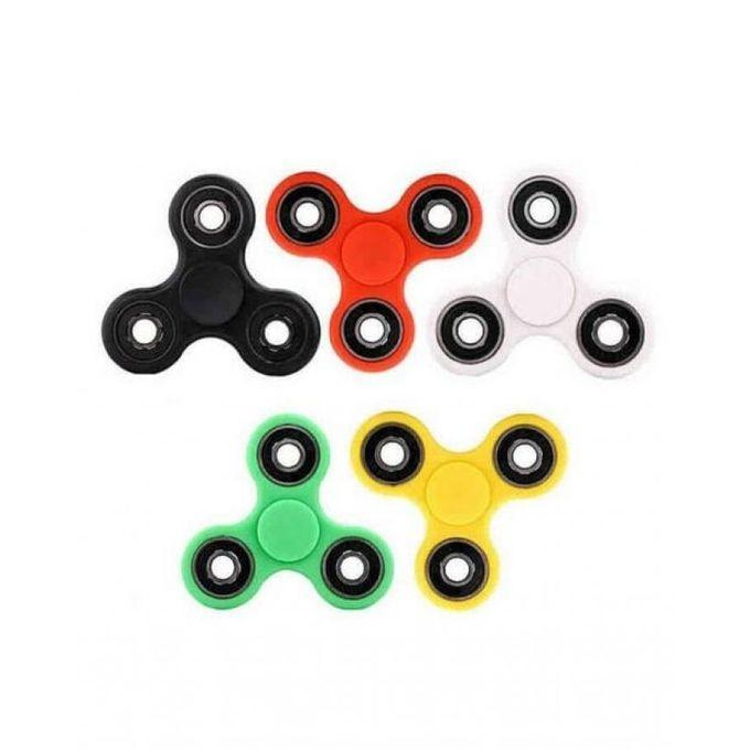 Pack of 5 Fidget Spinners Toy - Multicolor