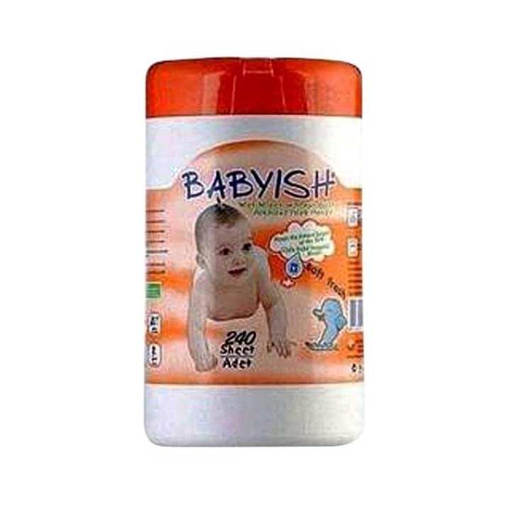 Babyish Wipes Soft and Fresh - 150 Sheet