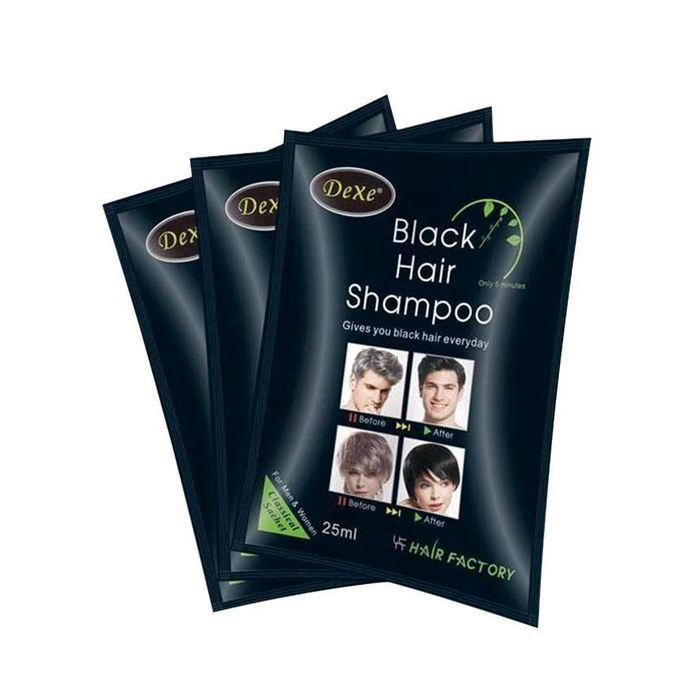 Black Hair Shampoo for Men - 250ml