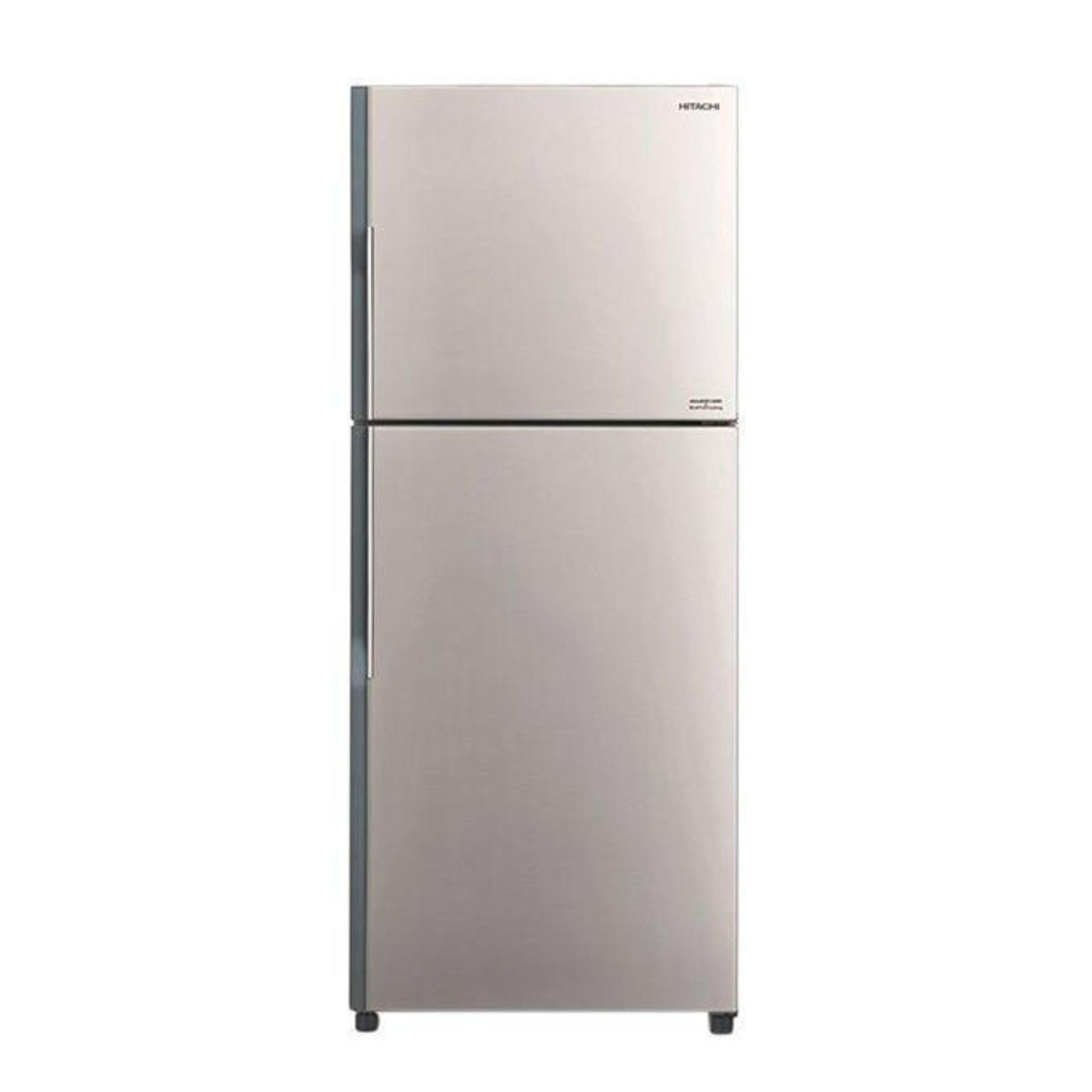 R-V410P3MS-SLS Top Mount Refrigerator 335L - Silver