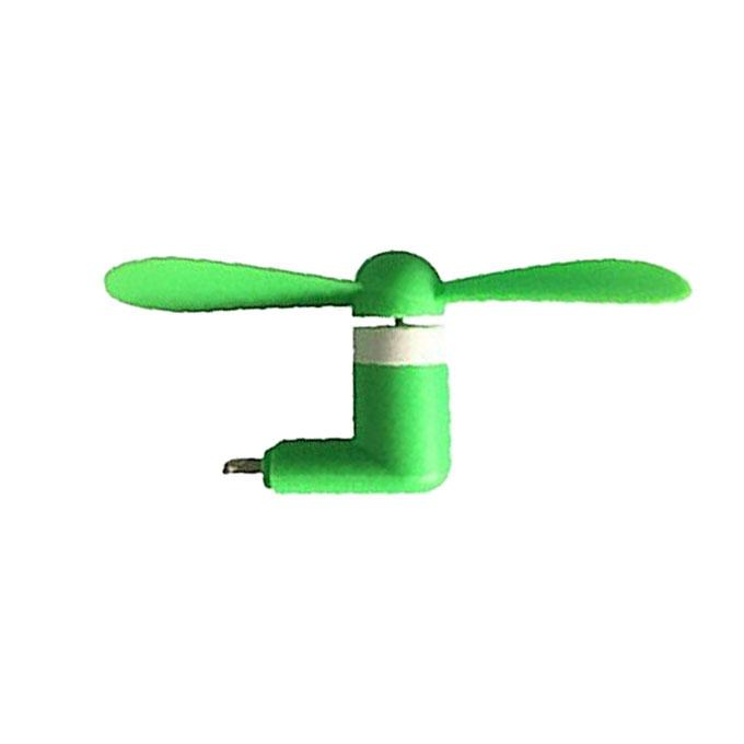 Mini Phone fan For iPhone - Green