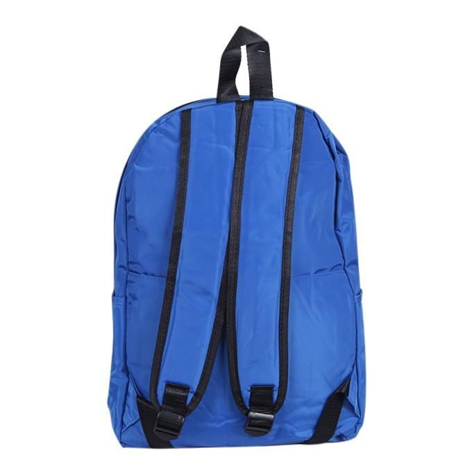 Dodger Blue Polyester Backpack For Men