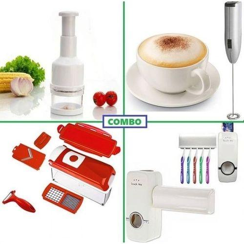 Nicer Dicer Pluse and Vegetable Choppers, Milk mixer and Toothpaste