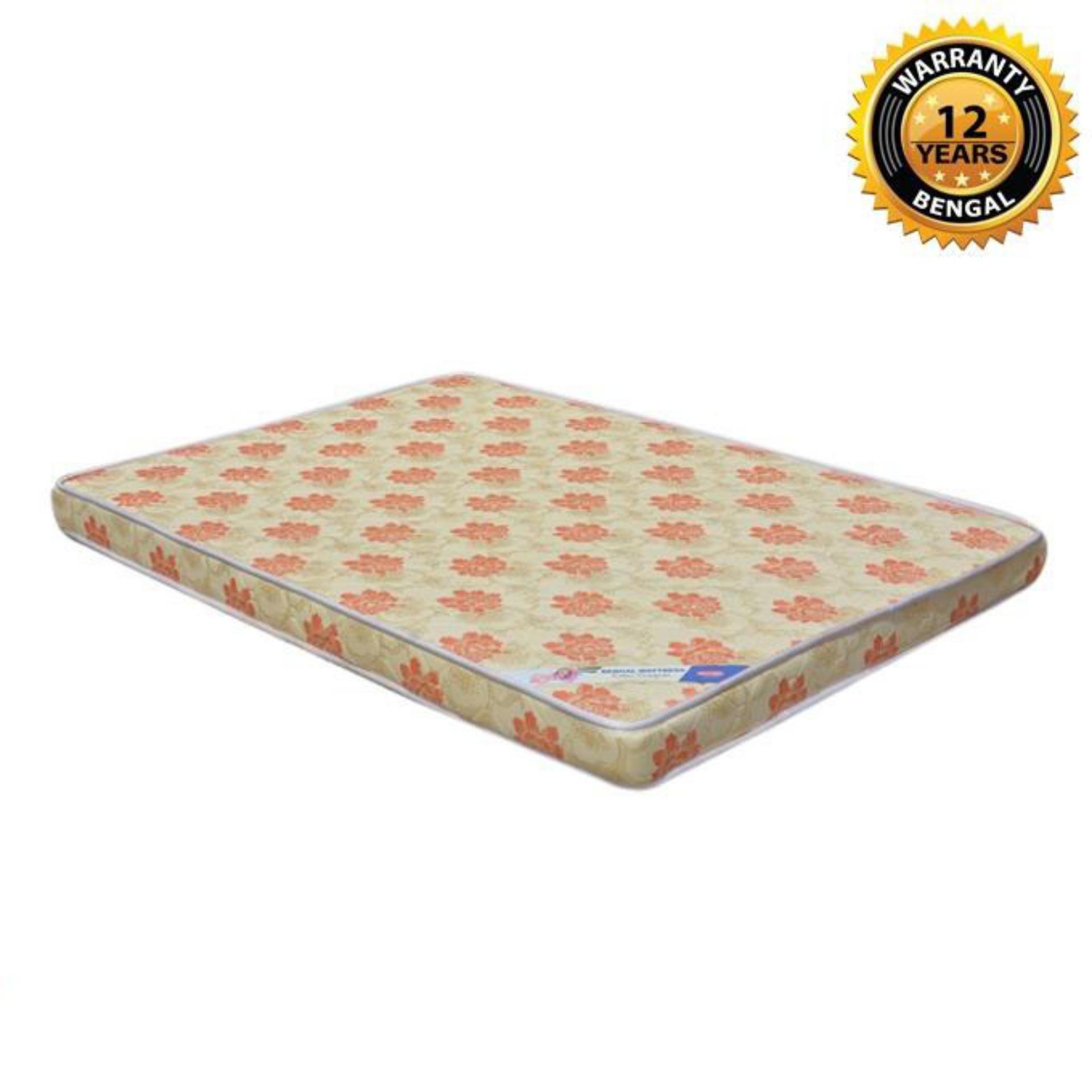 "Bengal Spring Mattress (78""x60""x12"") - Multicolor"