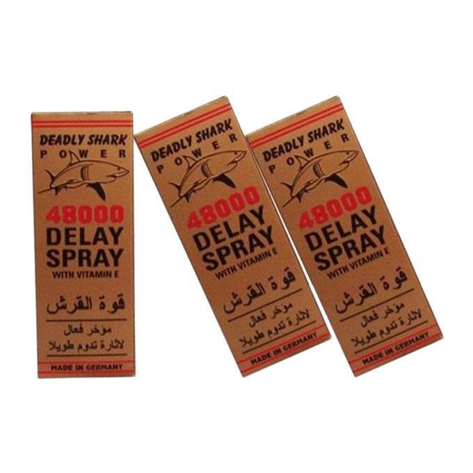 Deadly Shark Power 48000 Long Time Delay Spray-Gold
