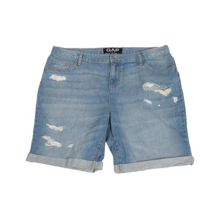 Blue Denim Sexy Shorts for Women