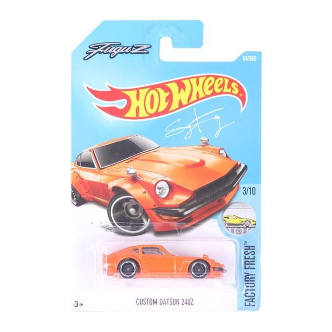 HW 01 Hot Wheels Car - Orange