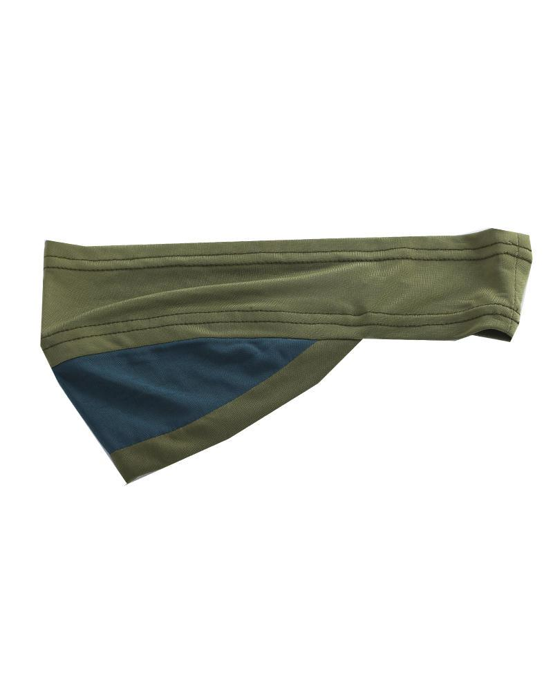 Lycra Spandex Headband - Olive and Bottle Green