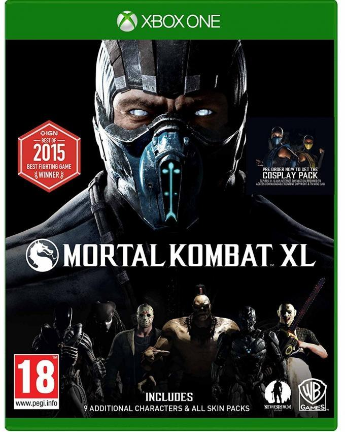 Mortal Kombat XL Gaming CD For Xbox One
