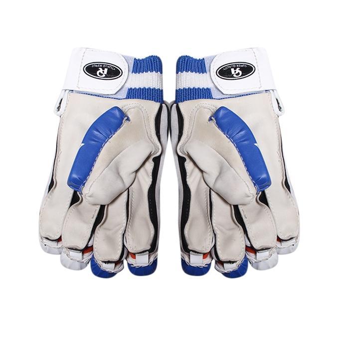 Batting Gloves – Blue and White