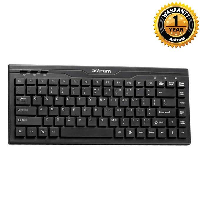 KM300 Flat Laptop Keyboard KM300 - Black