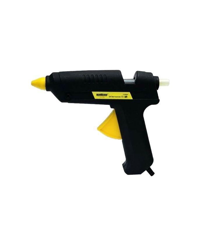 Crownman Glue Gun With 38 pc Glue Stick - Black
