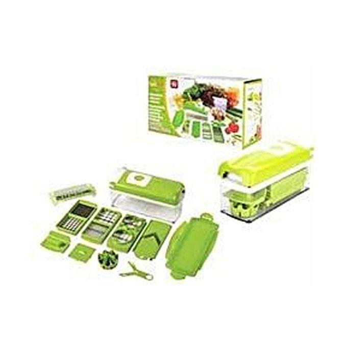 Combo Pack Nicer Dicer Plus and Vegetable Chopper and Garlic Machine