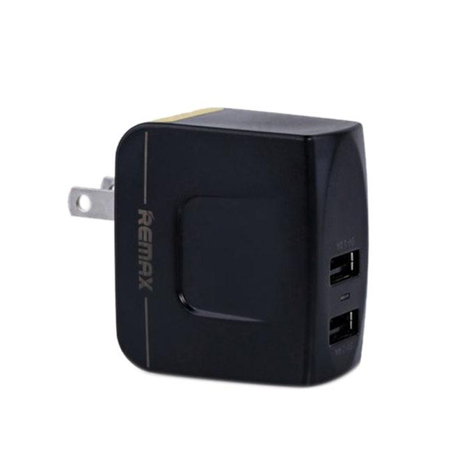 RMT-6188  3.4A Dual USB Charger - Black and Yellow
