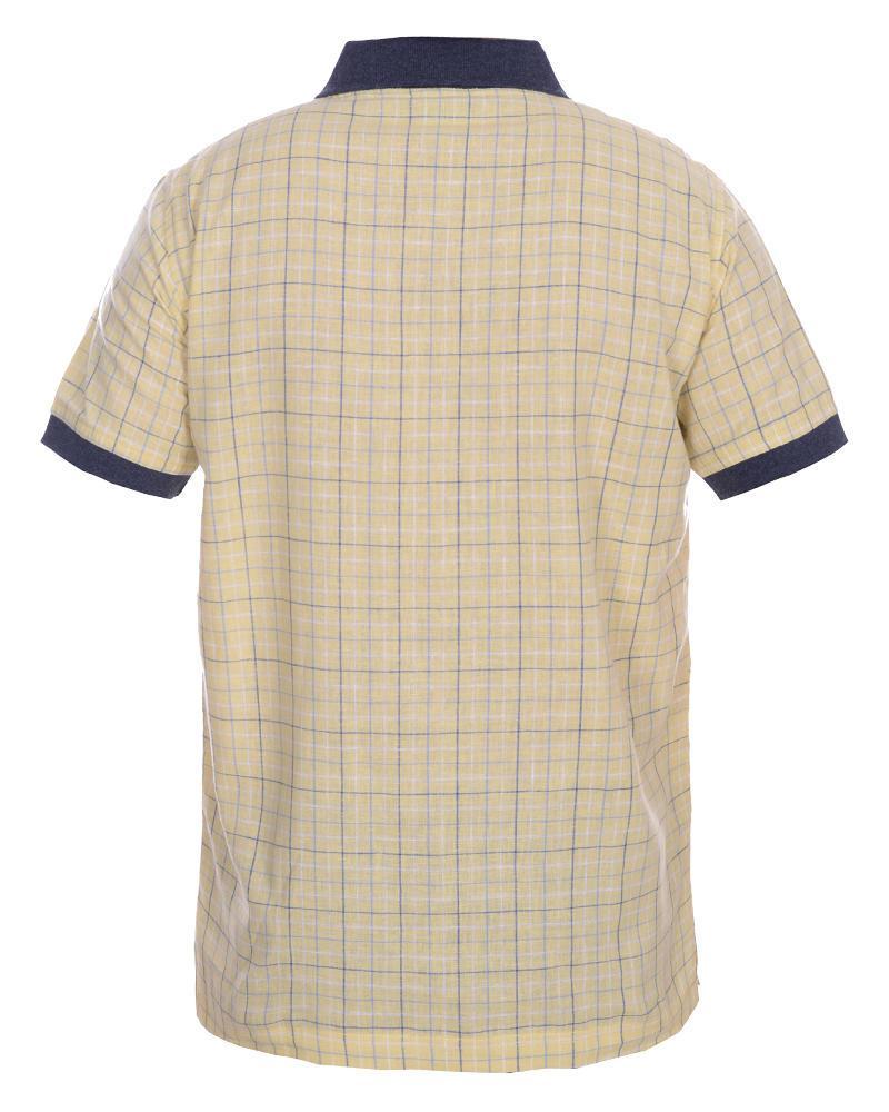 Cotton Casual Short Sleeve Polo - Yellow
