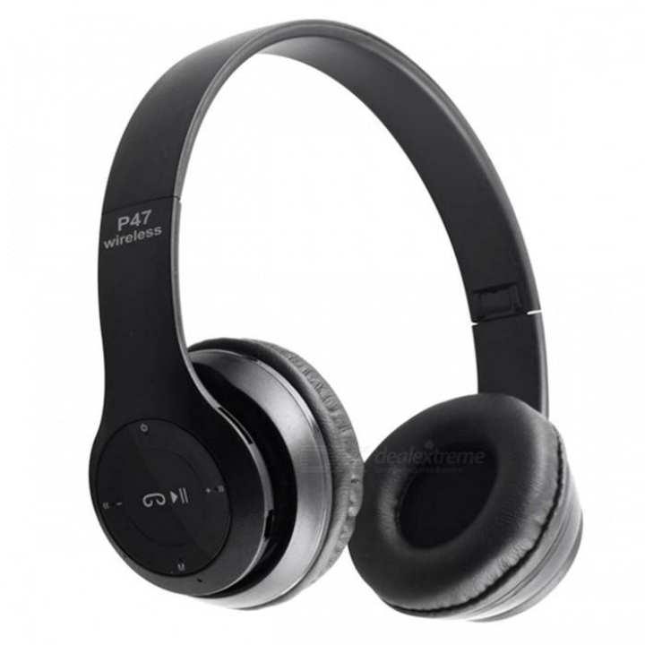 P47 - Wireless Bluetooth Headphone - Black