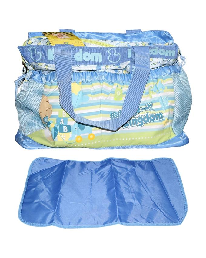 Blue Multi-Functional Organizer Mother Set Bag For Babies