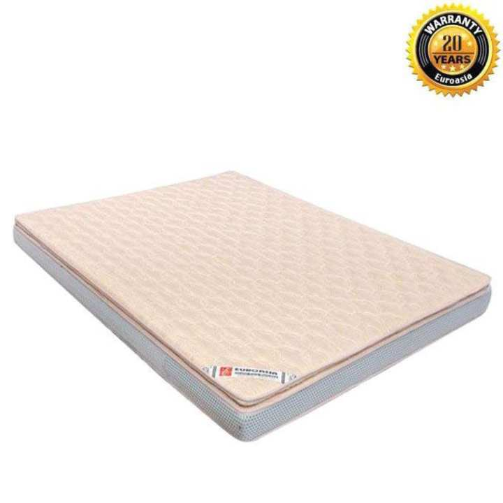 "Euro VIP Orthopedic Mattress – 78""x66"" - 6"" Height (Standard Fabrics)"