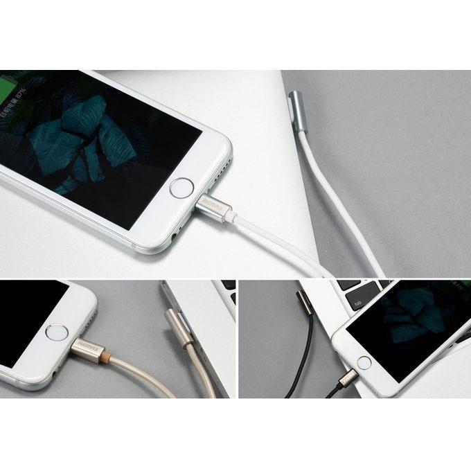 RC-054i Emperor Series Lightning Data Cable for iPhone - White