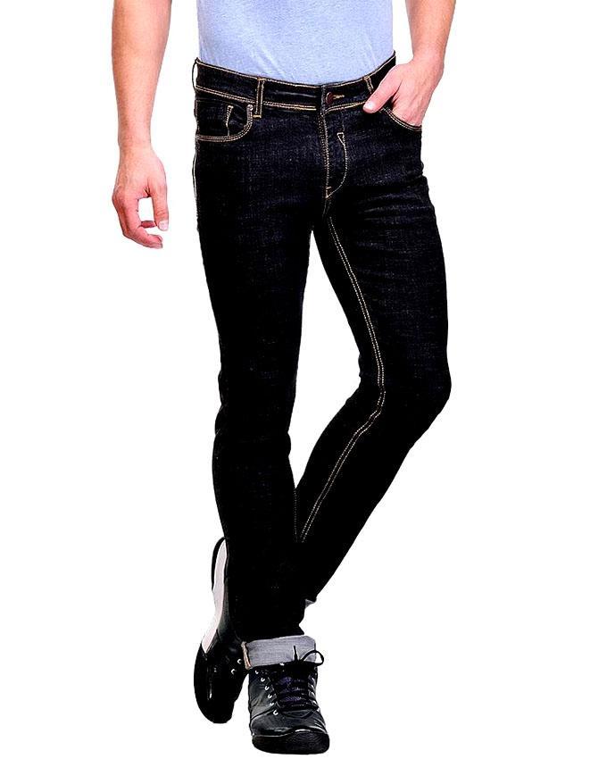 Black Denim Jeans For Men