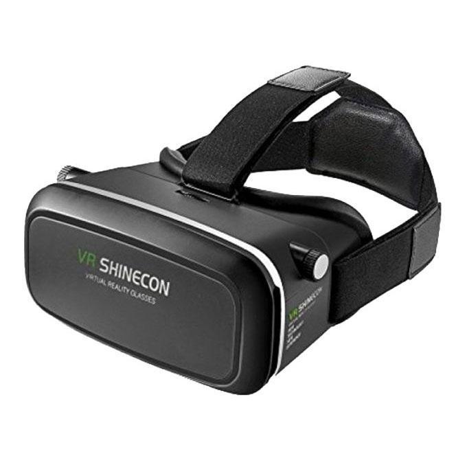 3D VR Shinecon Video Glasses Virtual Reality - Black