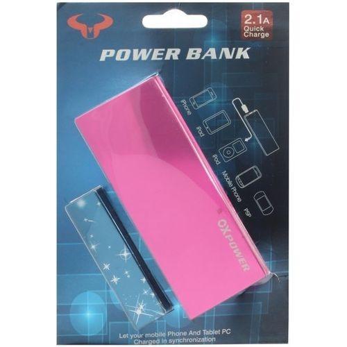 OX Power Bank 5000mAh - Pink