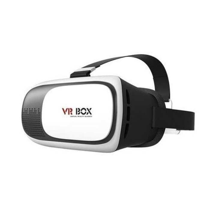 VR BOX 2 Virtual Reality 3D Glasses for Smartphones - White and Black