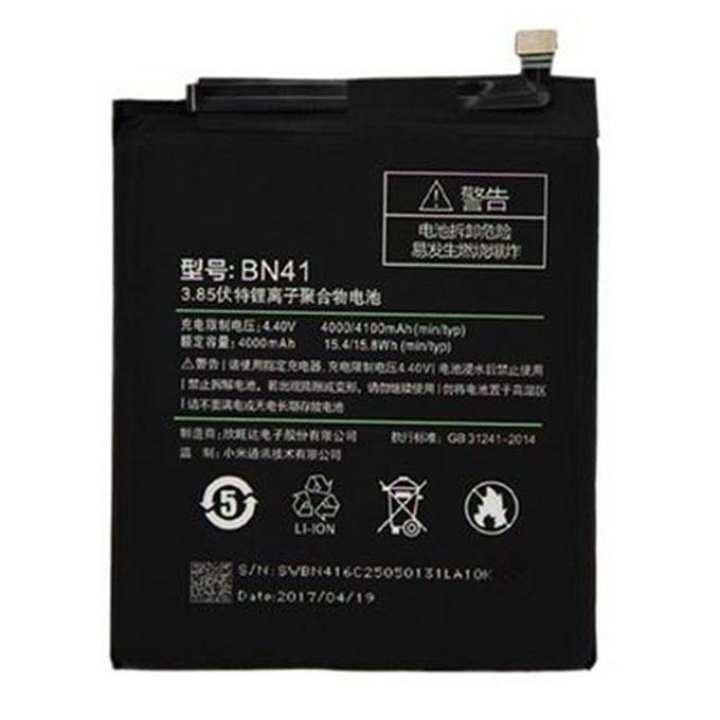 4000/4100 mAh Battery for Xiaomi REDMI NOTE 4X - Black