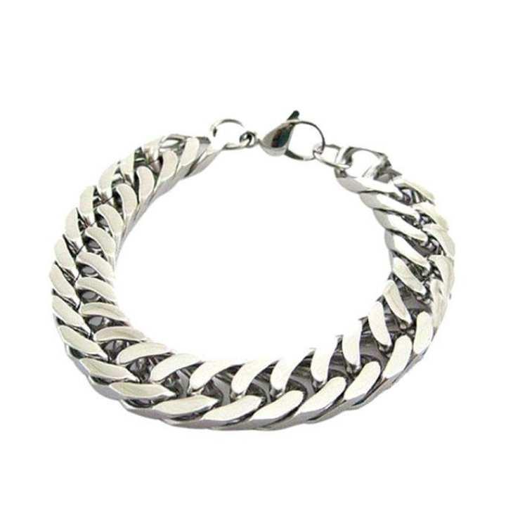 Silver Metal Bracelet For Men