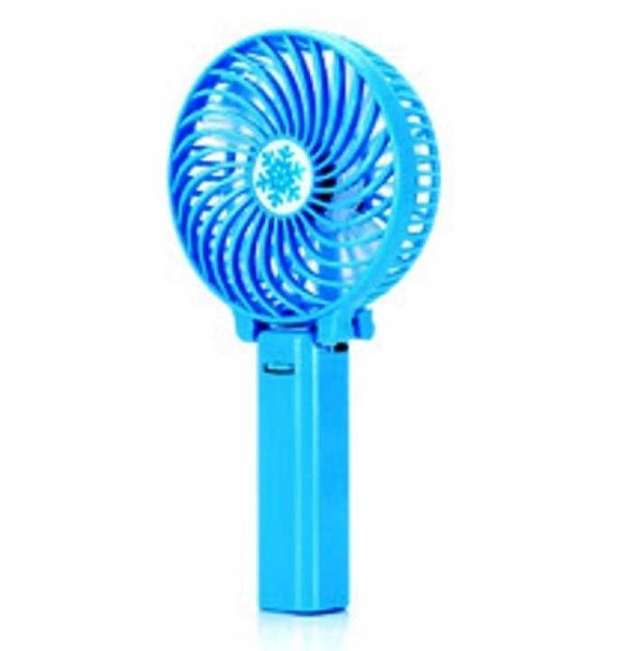 Portable Handheld Mini Fan - Blue