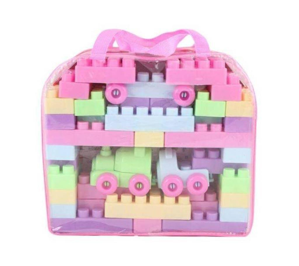Kids Block Building Toys In Bangladesh At Best Price Minecraft Assembling Toy Plastic Blocks Multi Color
