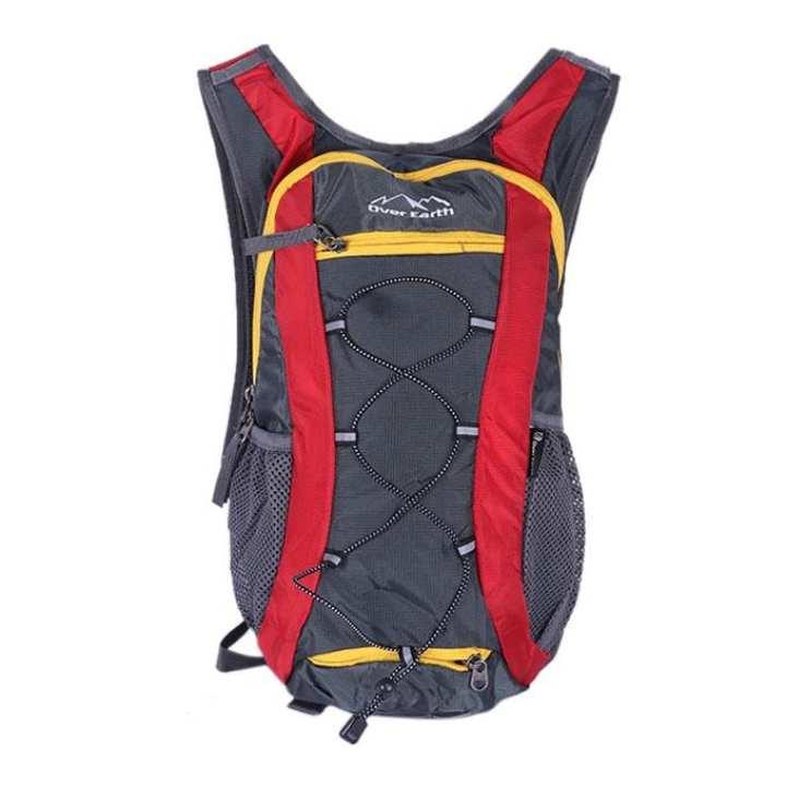 Polystar Backpack For Men - Grya and Red