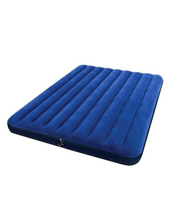 Queen Downy Inflatable Air Bed Mattress - Blue