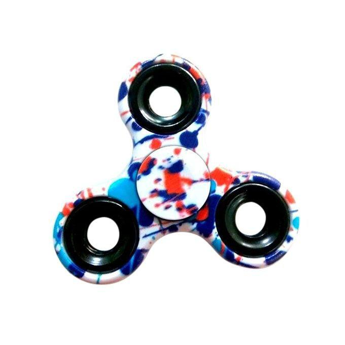 EDC Printed Fidget Spinner Stress Reducer Toy - Multi-color