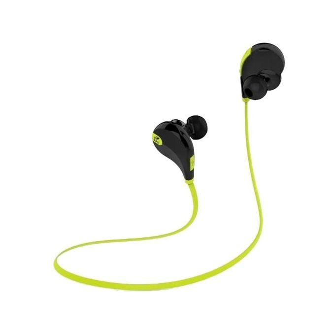 Gear 5 Sports Bluetooth Headphone - Black and Green